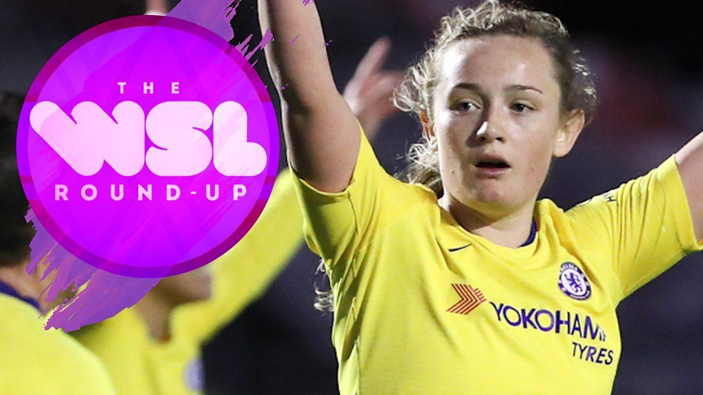 Women's Super League round-up: Fara Williams & Erin Cuthbert star
