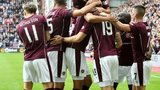 Hearts scored early at Tynecastle
