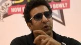 File photo: Wasim Akram speaks during a press briefing at the 13-day camp under the Pakistan Cricket Board in Karachi on 1 August 2015