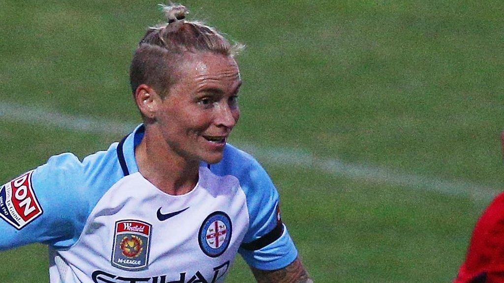Jess Fishlock: Wales midfielder back with Melbourne City