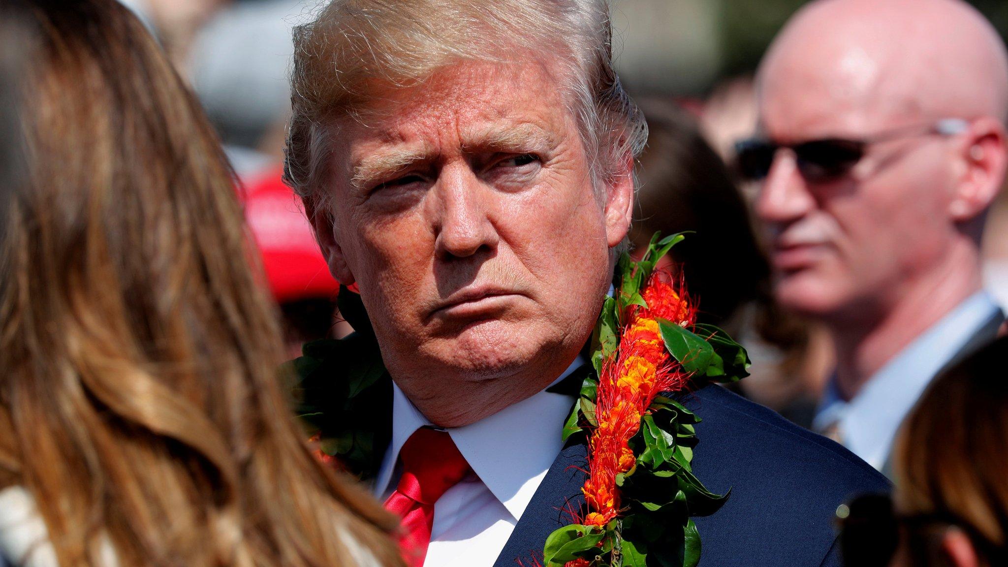 Donald Trump embarks on marathon tour of Asia