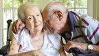 Dementia patient, stock image