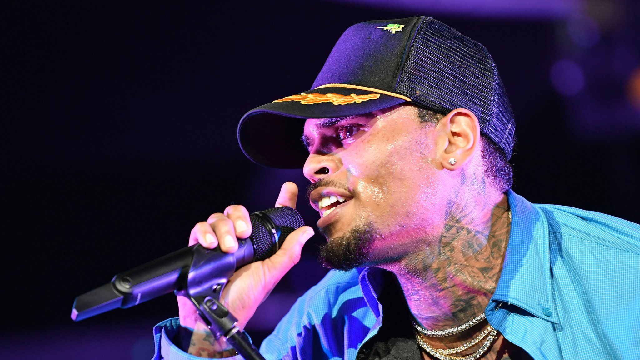 Chris Brown: US singer arrested in Paris on suspicion of rape