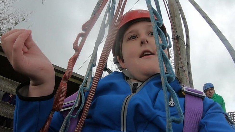 Disabled boy sues theme park over lack of suitable toilet