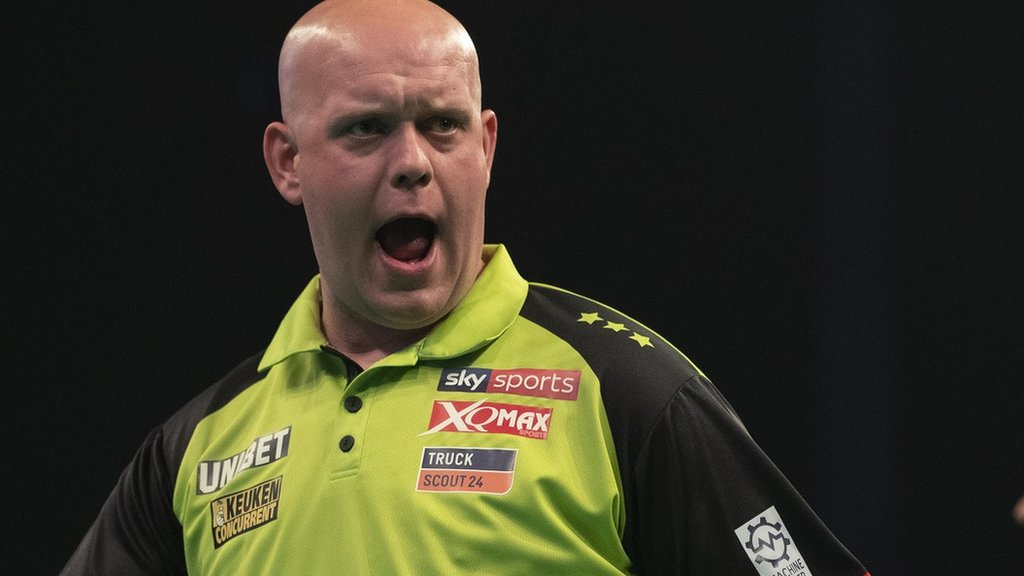Premier League Darts play-offs: Michael van Gerwen seeking fifth title
