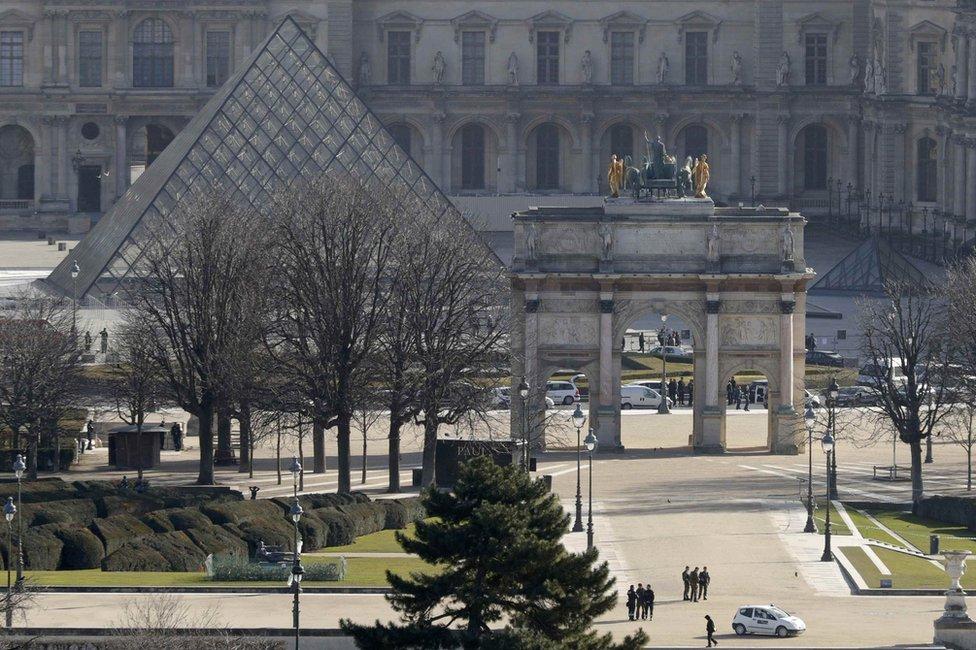 Museo del Louvre, en París.