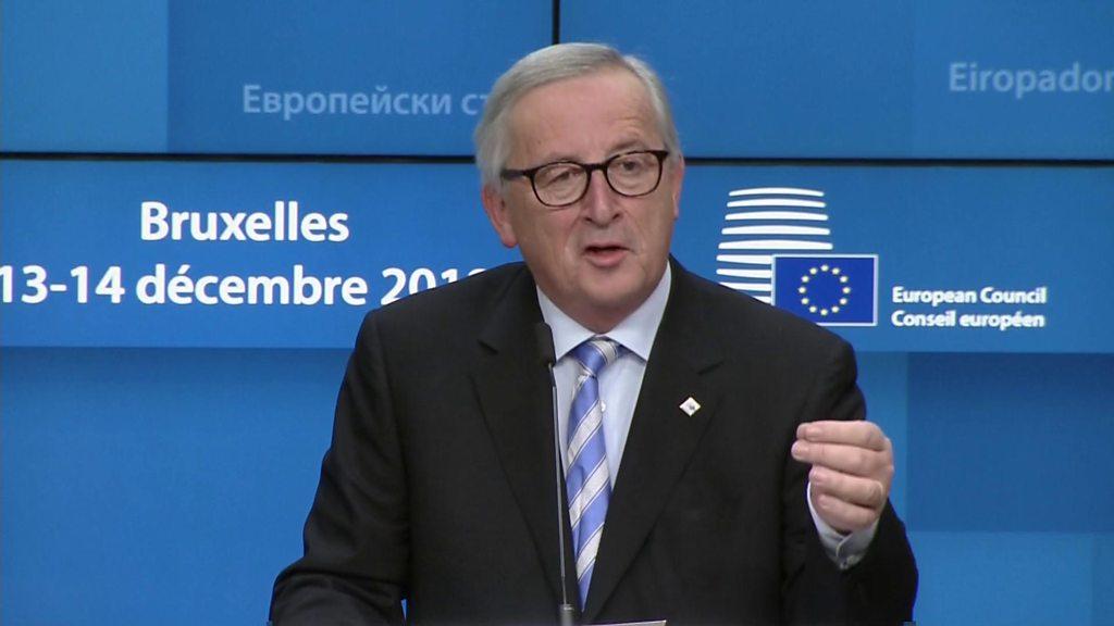 Juncker explains 'nebulous' remark