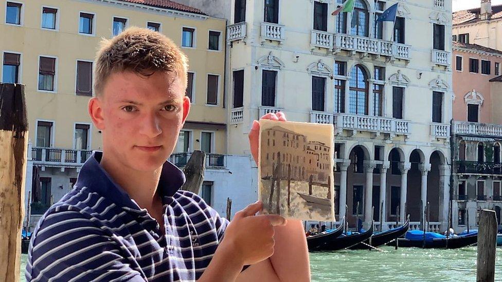 'Mini Monet' Kieron Williamson fulfils Venetian dream