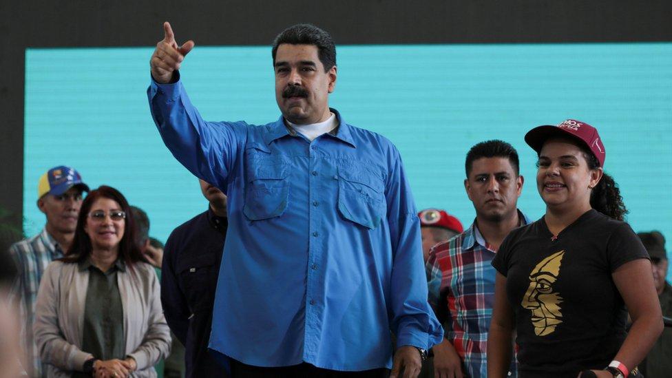 El presidente Maduro anunció este martes que sustituye a todos los miembros de la cúpula militar del país.