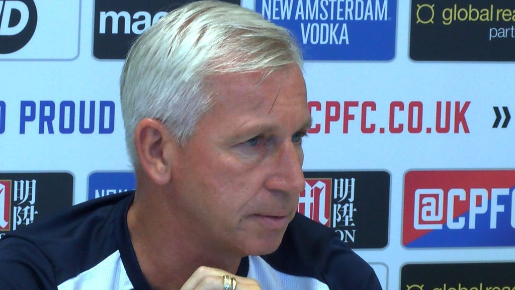 England manager: Crystal Palace's Alan Pardew 'proud' to be linked with job