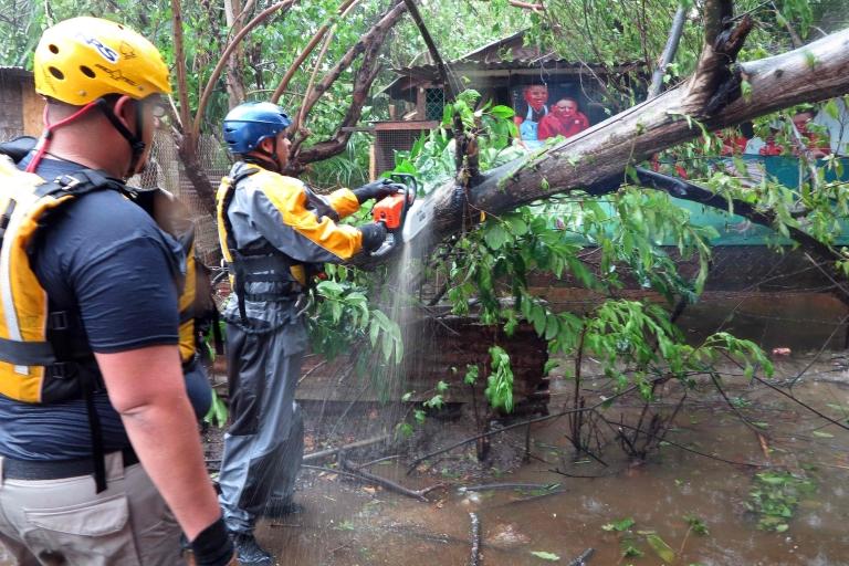 El huracán apenas rozó a Puerto Rico y los daños en la isla fueron menores.