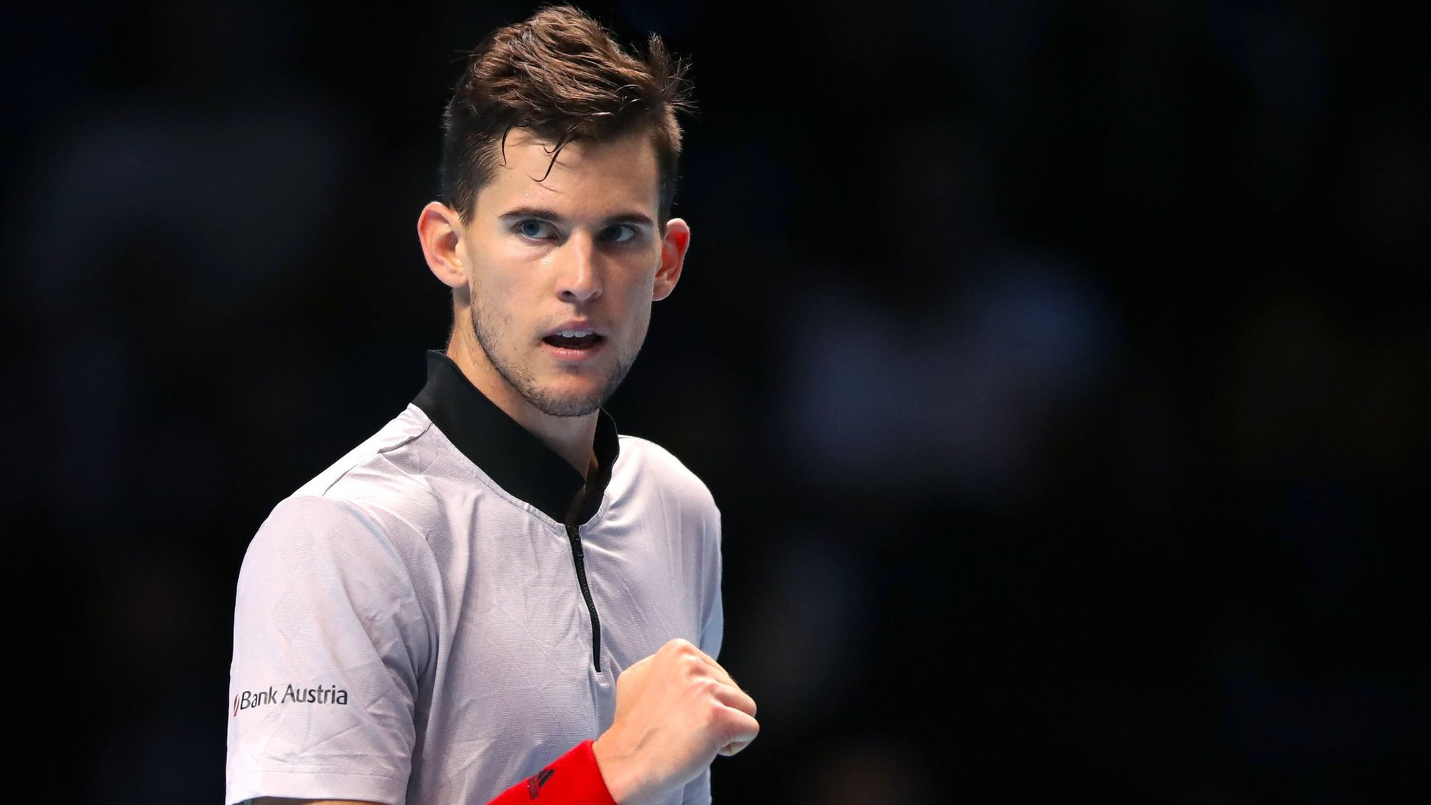 Thiem wins to boost Federer's hopes of making semi-finals