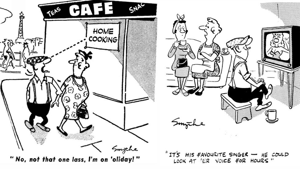 The first Andy Capp Cartoon