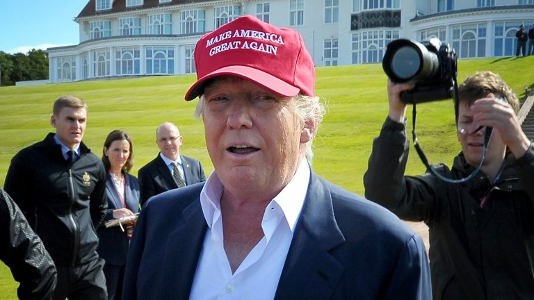 Trump due in Scotland for resort opening