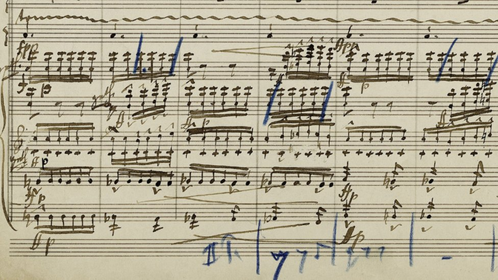 Mahler's £4.5m manuscript breaks record