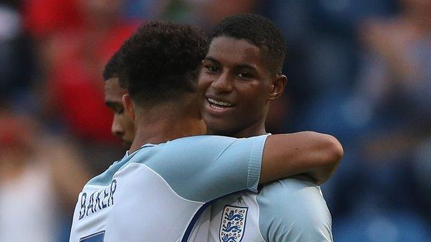 Marcus Rashford: Man Utd striker left out of England Under-21 squad