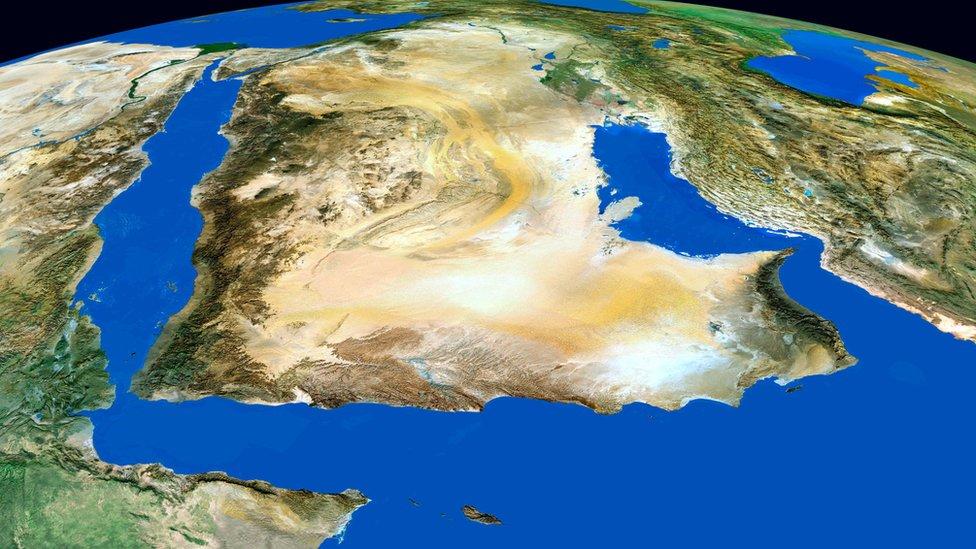 """وزارة التعليم قدمت خريطة للمؤسسة مكتوب عليها """"الخليج العربي"""" لتصحيح الخطأ"""