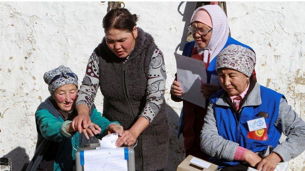 У Киргизстані обирають президента