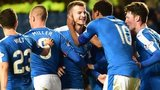 Rangers moved three points clear of Hibernian at the top of the Championship