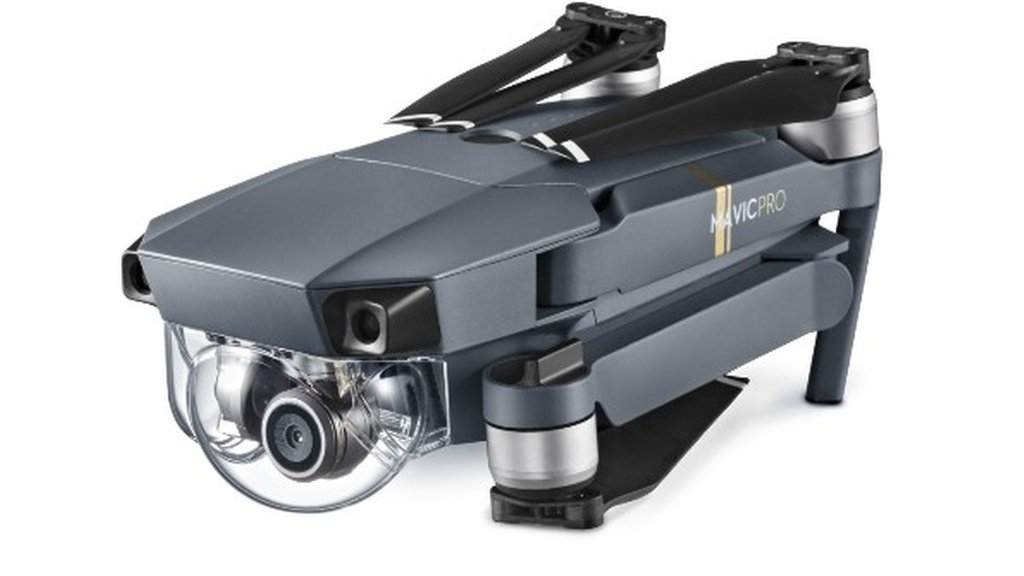 DJI's Mavic Pro fold-up drone detects obstacles