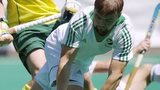 Alan Sothern scored Ireland's opening goal against Pakistan in the World League