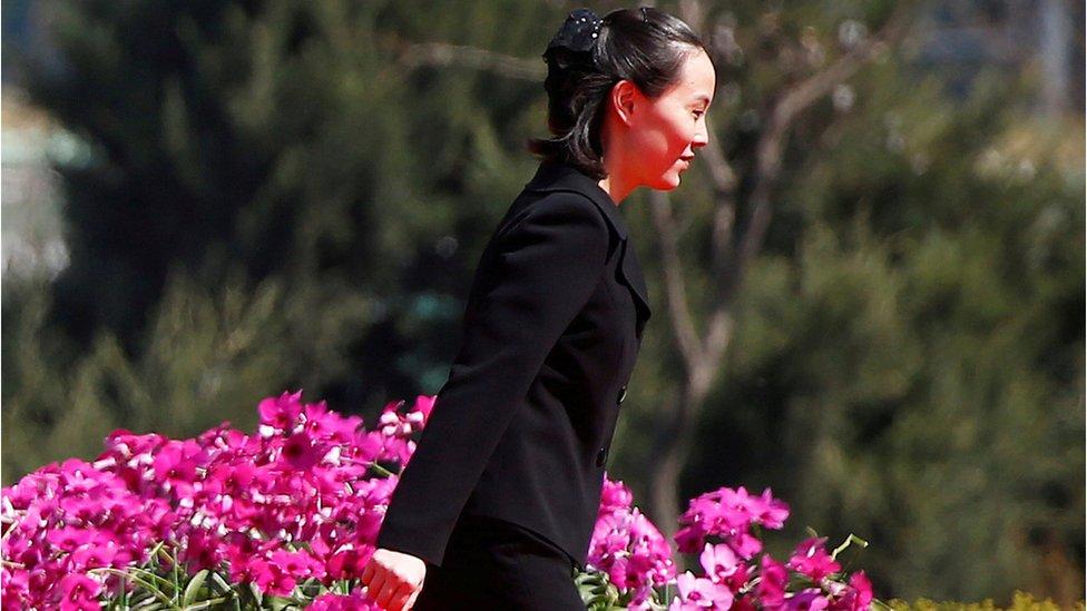 Kim Yo-jong.