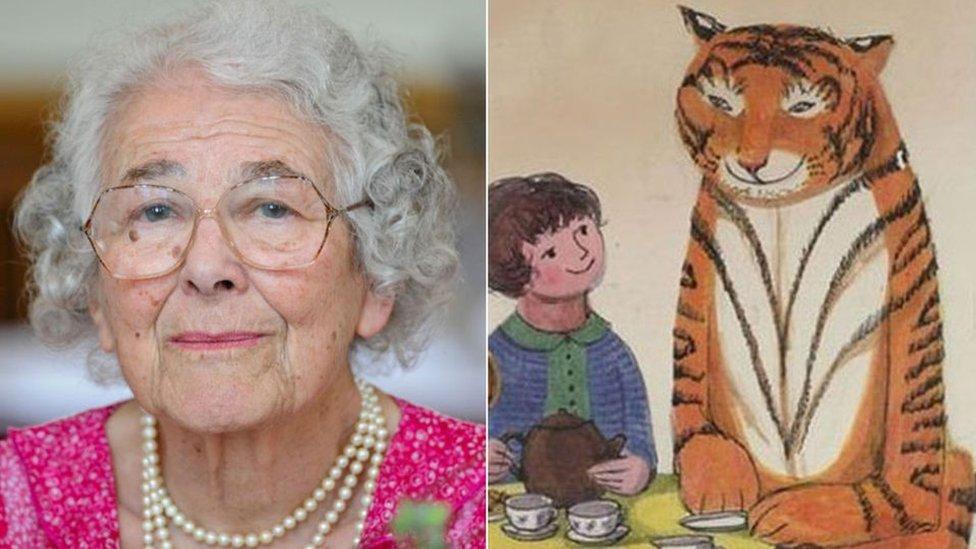 """Grande-Bretagne : décès de l'auteure du """"Tigre qui s'invita pour le thé"""""""