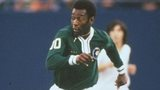 Brazil legend Pele in action for New York Cosmos in the 1970s