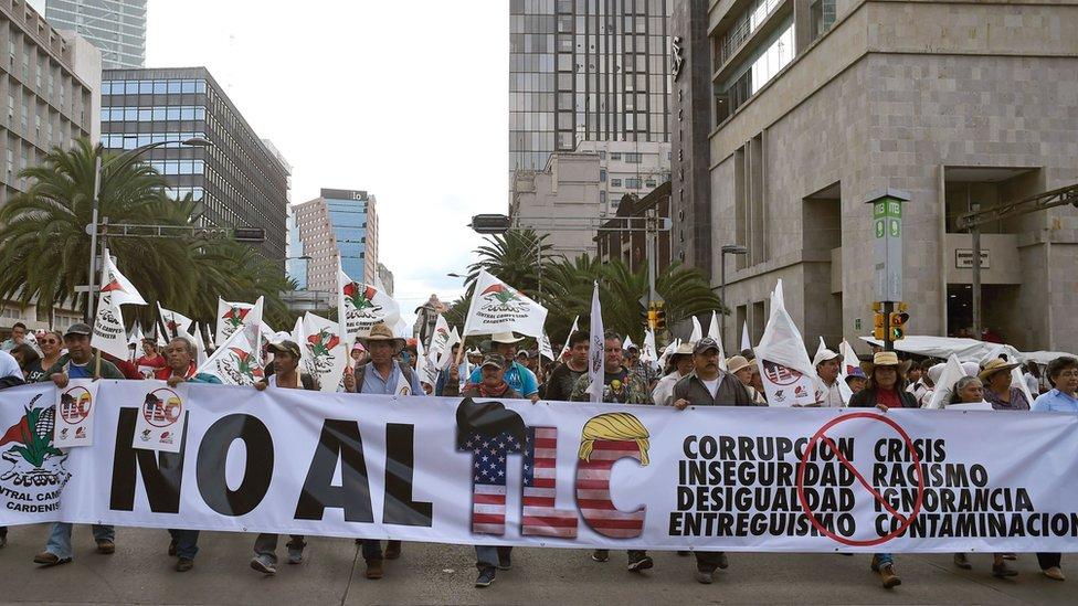 El libre comercio entre Estados Unidos y México ha sido siempre controversial.
