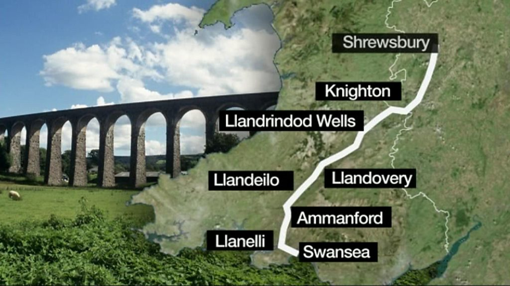 New 129-mile 'Heart of Wales' walking route unveiled