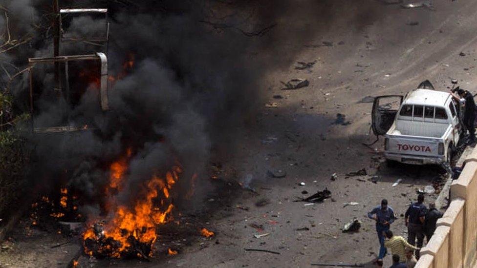 قتيلان في تفجير بالإسكندرية قبل يومين من انتخابات الرئاسة في مصر