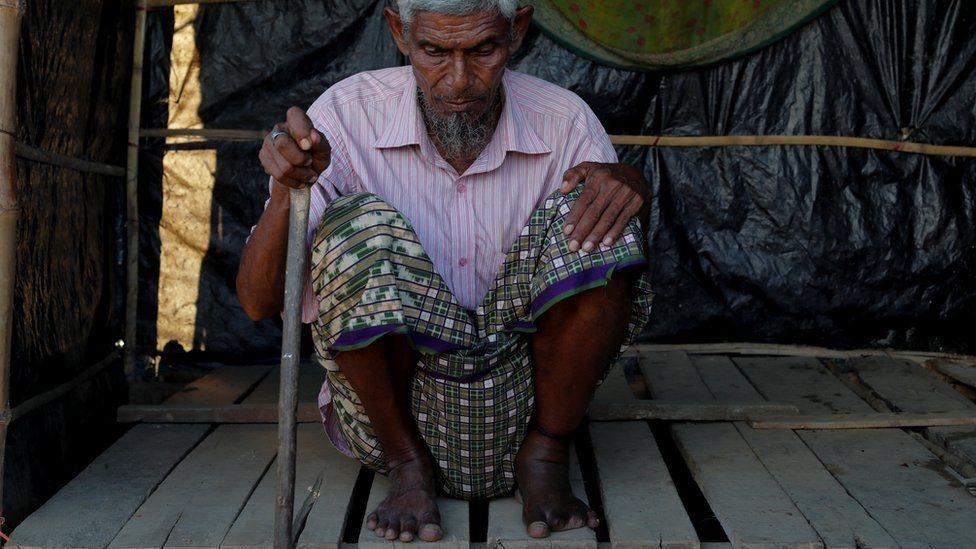 Rohingya man Abdu Rahaman