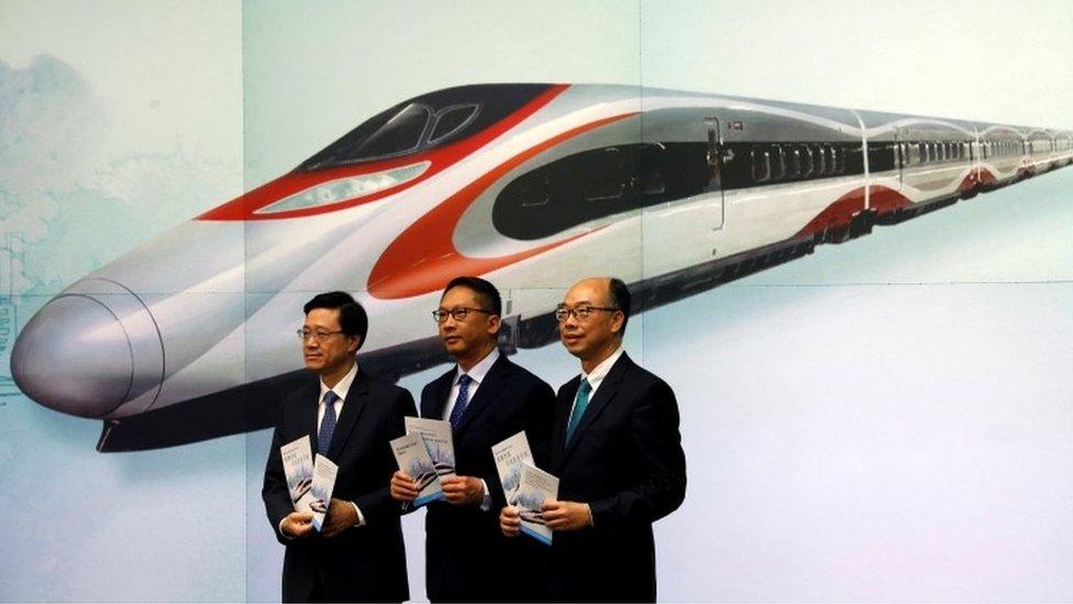 Hong Kong-China train station could apply mainland law