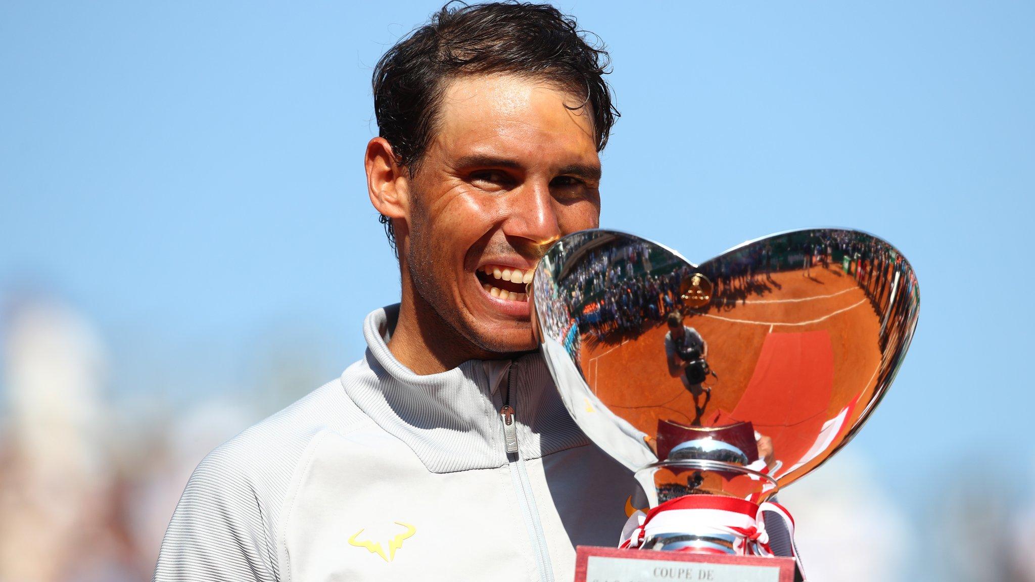 Monte Carlo Masters: Rafael Nadal stays world number one with final win over Kei Nishikori