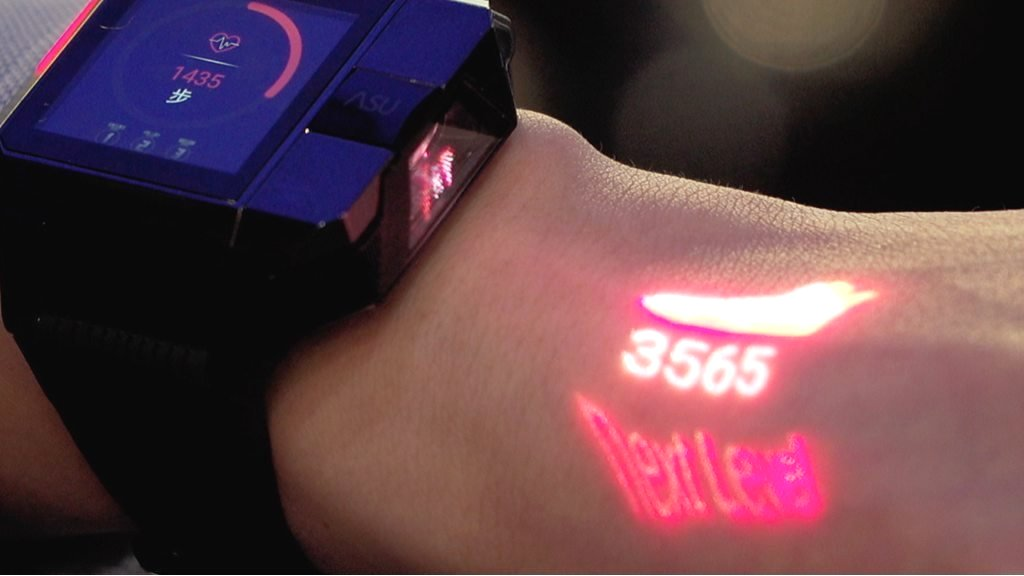 Haier smartwatch has a built in projector at mwc 2018 techdom leave a reply cancel reply fandeluxe Gallery