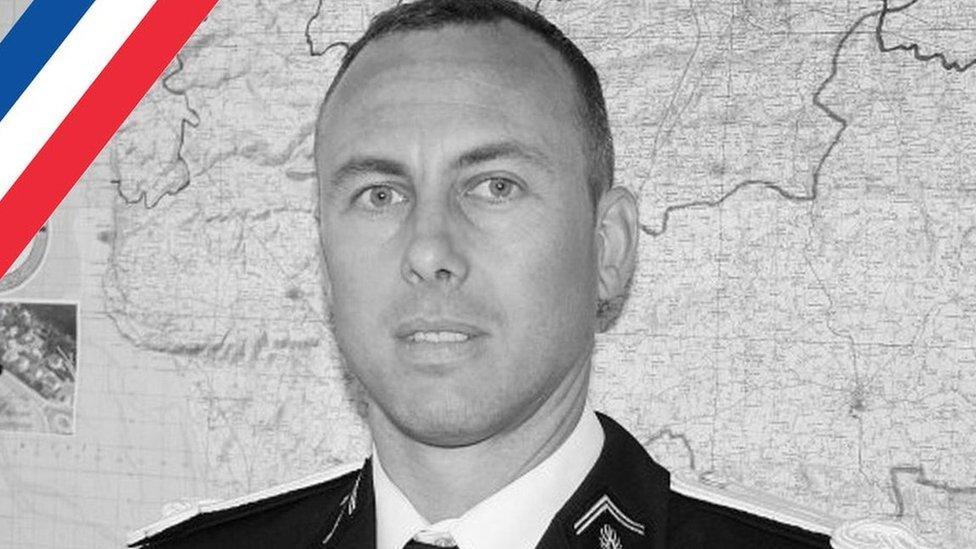 Teniente Coronel Arnaud Beltrame (Foto: Ministerio del Interior de Francia)