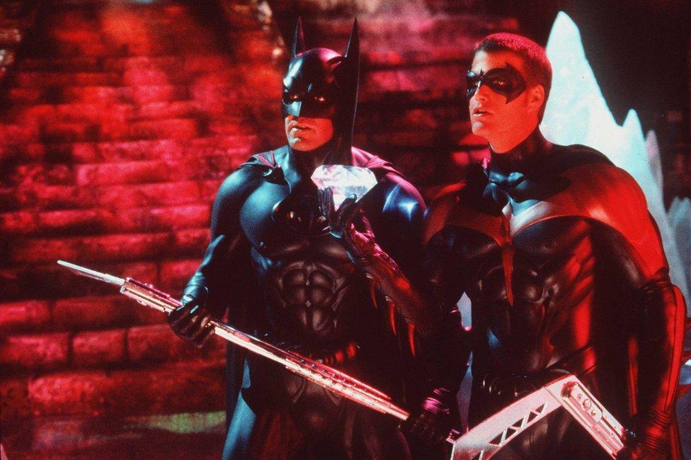 Escena con Batman y Robin