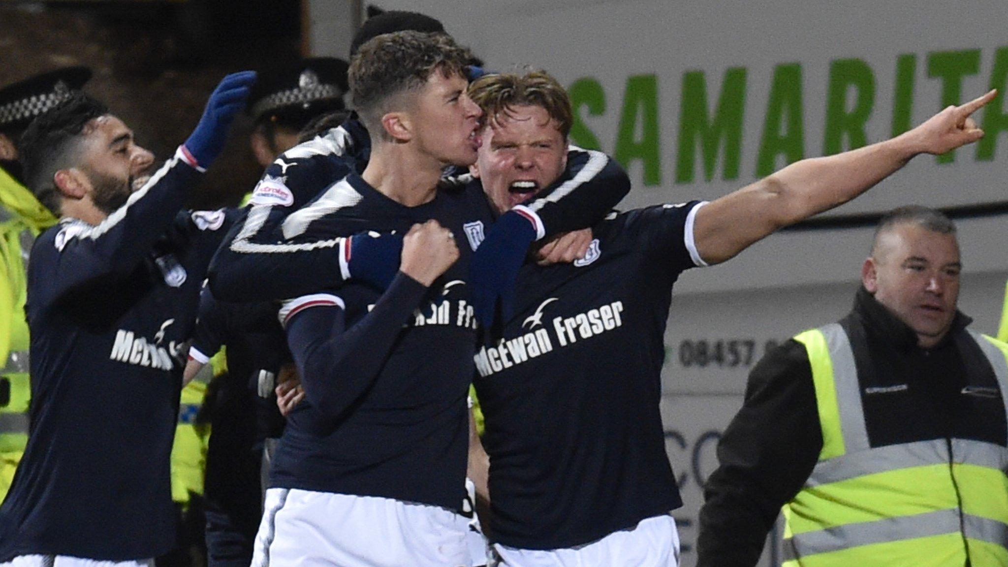 Scottish Premiership: Dundee 2-1 Rangers