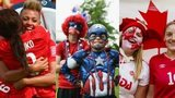 England players, US fans and Canada fans all featured at the World Cup