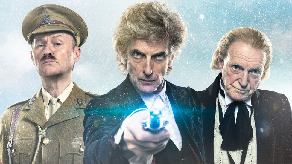 Doctor Who Christmas special: First look at Peter Capaldi's final outing