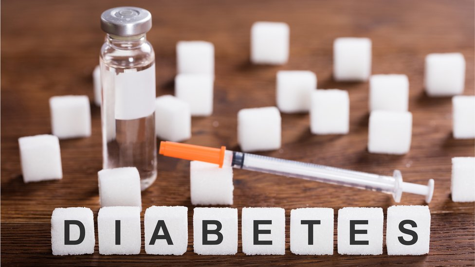 Ilustración de la diabetes
