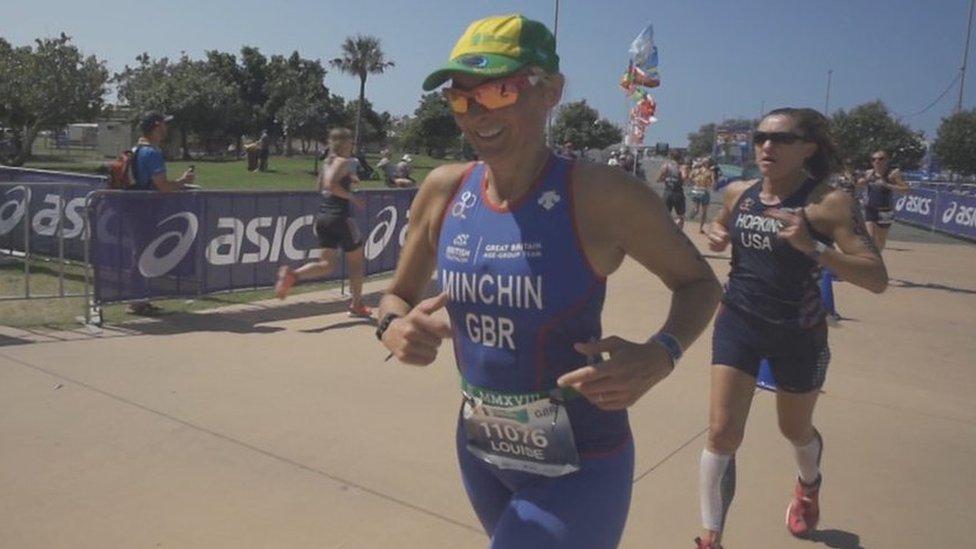 How BBC presenter Minchin & others caught the triathlon bug