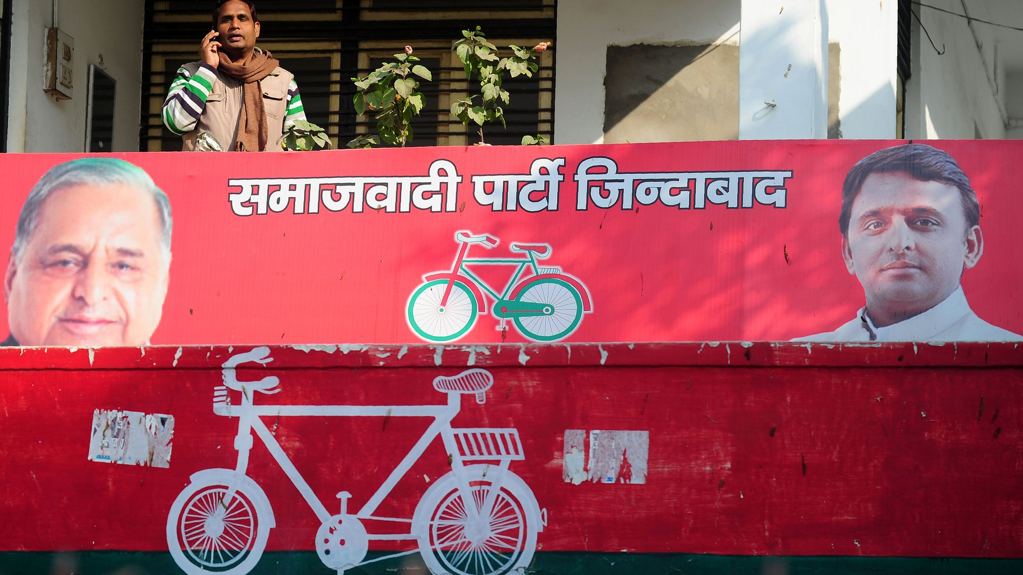 Why a bicycle may decide Indian election