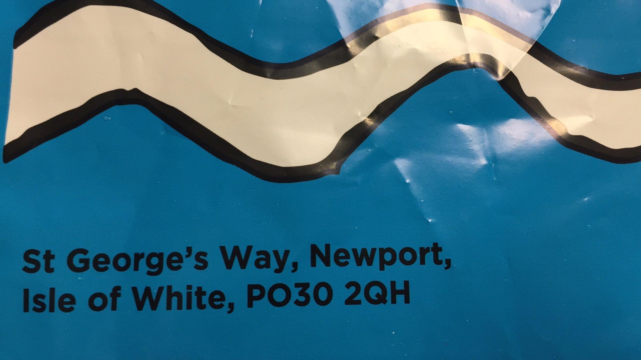 Asda sorry for 'Isle of White' shopping bag gaffe