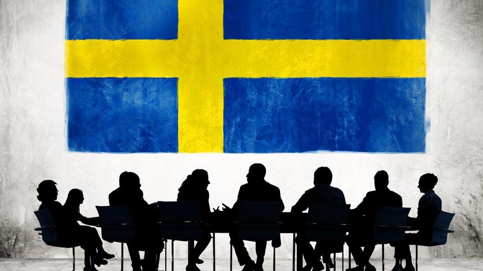 Directorio de empresa sueca