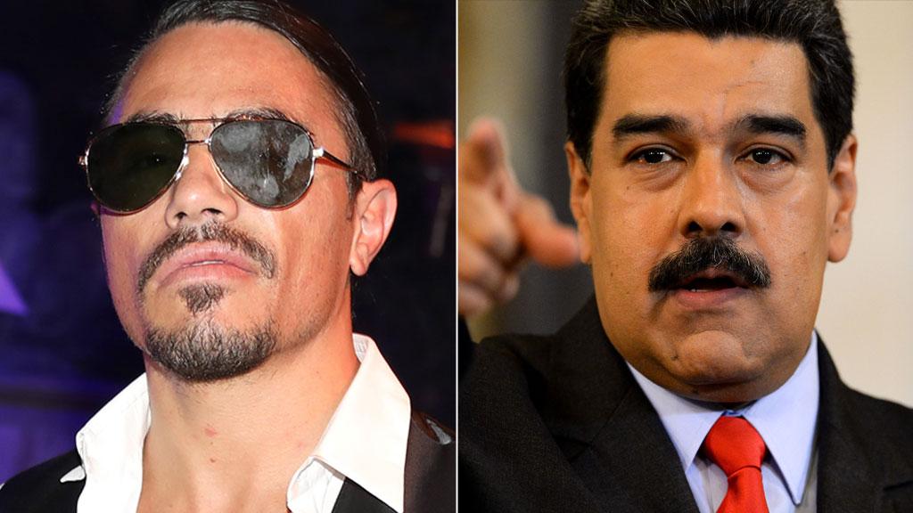 Nicolás Maduro: Fury over Venezuela leader's Salt Bae 'feast' | BBC
