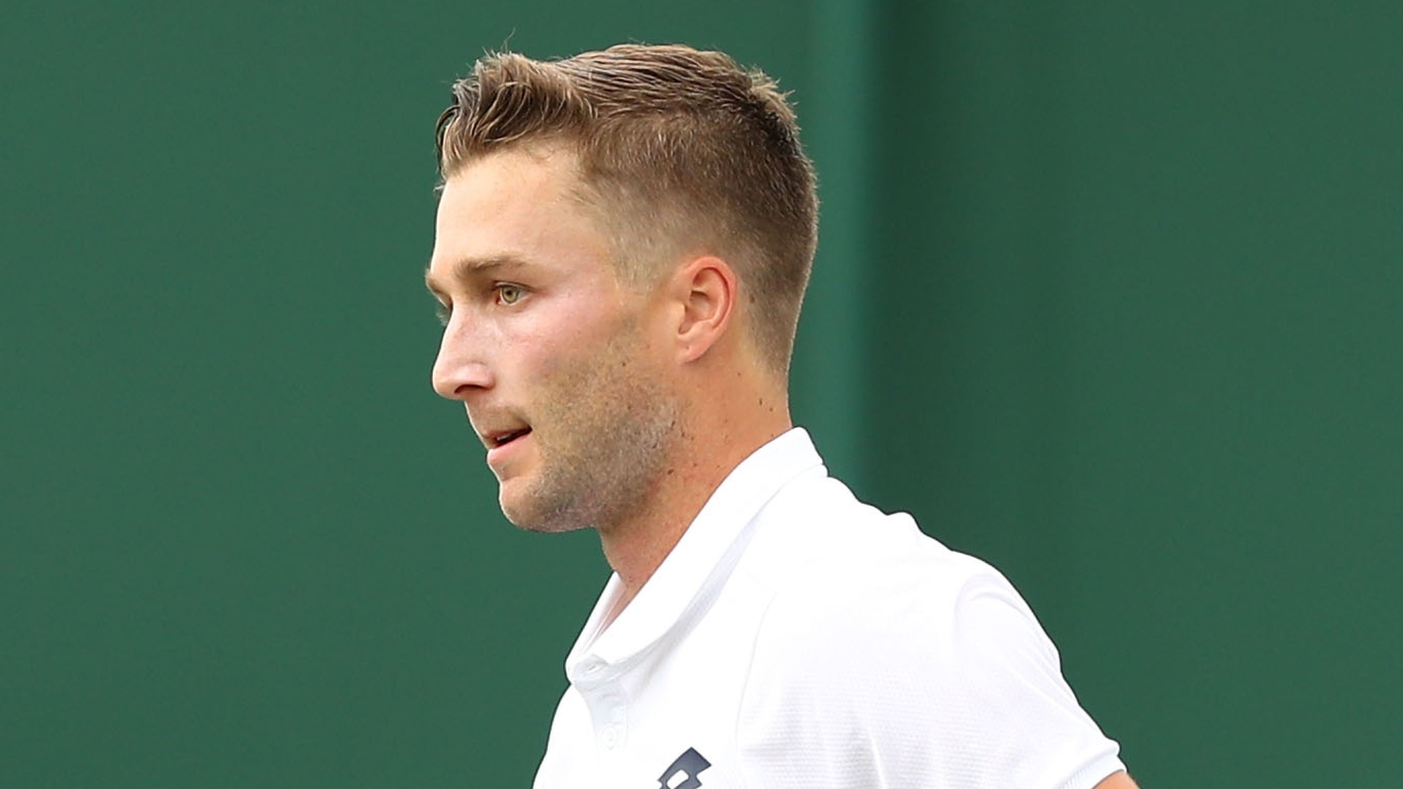 Broady reaches Wimbledon qualifying second round