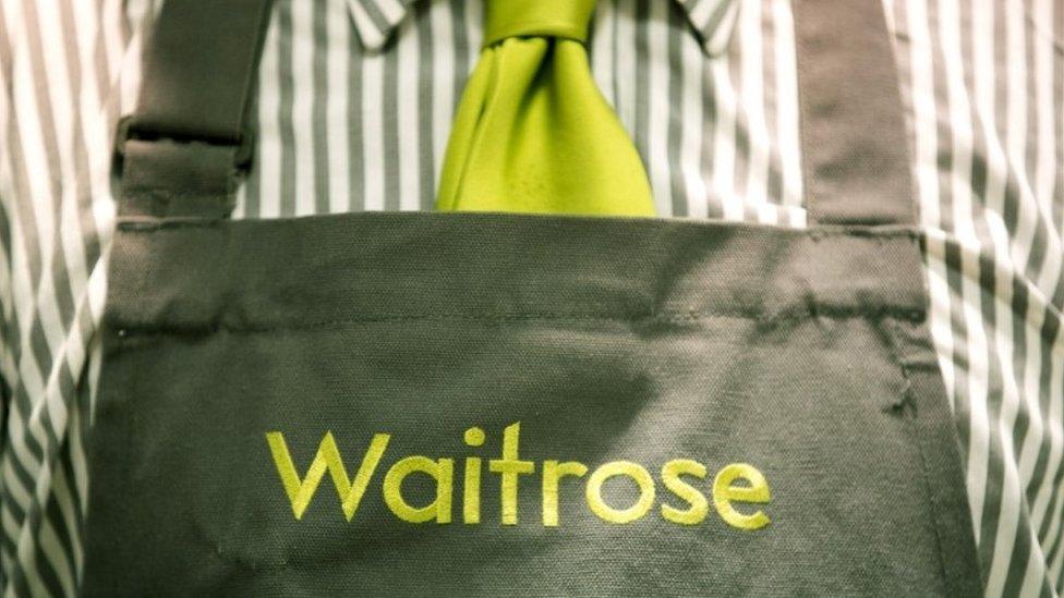 Waitrose apron