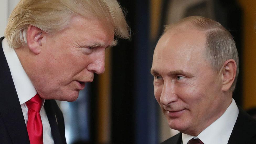 Trump y Putin en Vietnam