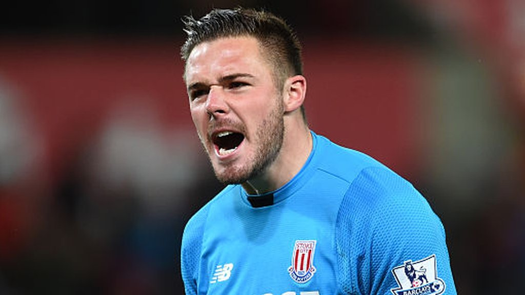 Jack Butland: England and Stoke keeper plays first match after injury